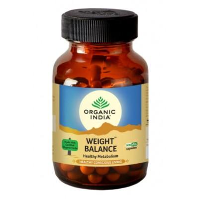 Lot of 2 Organic India Weight Balance 120 Capsules USDA GMO Ayurvedic Natural