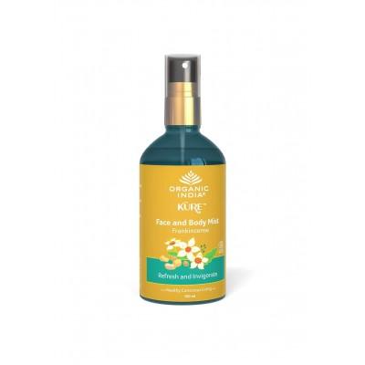 Organic India Face and Body Mist Frankincense 100 ml Ayurvedic Natural USDA GMO