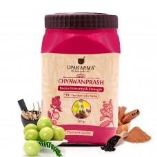 UPAKARMA Ayurveda Chyawanprash 500 gm with 30+ Natural Herbs Immunity Strength