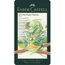 Pack of 12 Faber Castell Pitt Pastel Pencil Set Thick lead German made draw gift