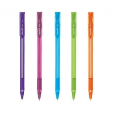 Pack of 200 Reynolds Brite Trendz Pens BLUE INK 0.7mm fine tip school office kit