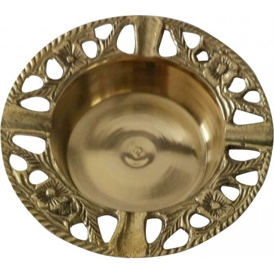 India Brass Handicraft Decorative Ashtray Gift home office table art decoration