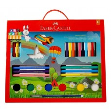 Faber-Castell Art Care Kit with 33 Units Paint Brush (Multicolor) student school