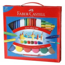 Kit with 27 units Faber-Castell Art Color Kit Paint Brush Student school Gift