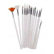 Lot of 15 BeautA Secrets Nail Art Design Dotting Painting Drawing Polish Brushes