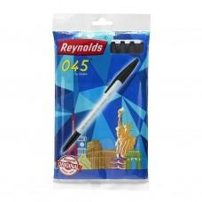 Lot of 30 Pens Reynolds 045 Fine Carbure 0.7 mm BLACK Ink Student Office Gift