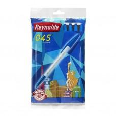 Lot of 30 Pens Reynolds 045 Fine Carbure 0.7 mm BLUE Ink Student Office Gift Kit
