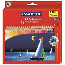 Lot of 48 Staedtler Luna Water Color Pencil (Multicolour) artist craft art work