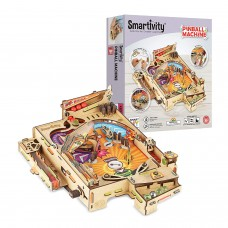 Learn Create with Science Pinball Machine Educational DIY Construction Gift Set