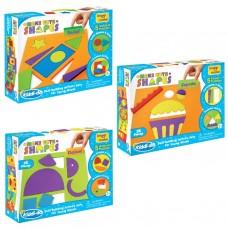 3+ Kids activity learning knowledge set shapes vehicles food animals set gift