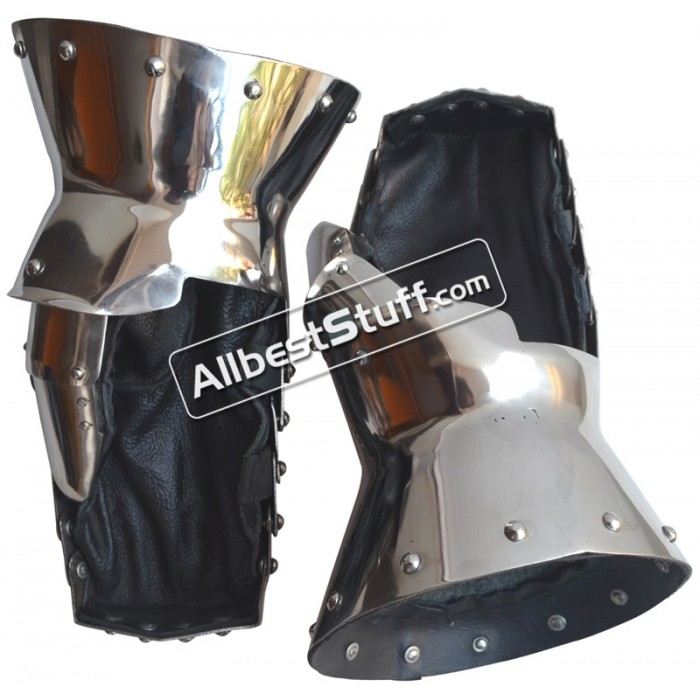 Medieval Heavy 16 Gauge Stainless Steel Mitten