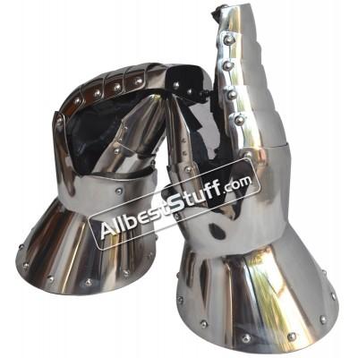 Medieval Heavy 16 Gauge Stainless Steel Mitten