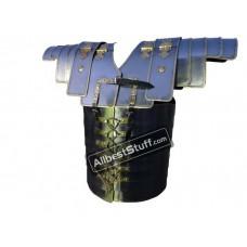 Lorica Segmentata Legionare Armor Leather Strap and Brass Lining
