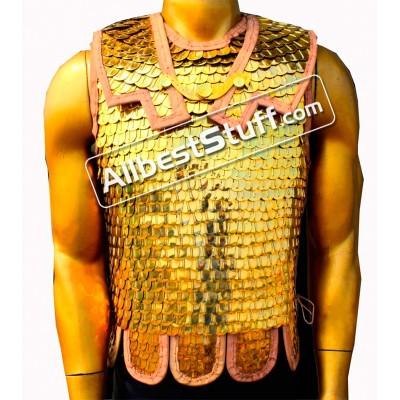 Medieval Roman Lorica Squamata Scale Armor