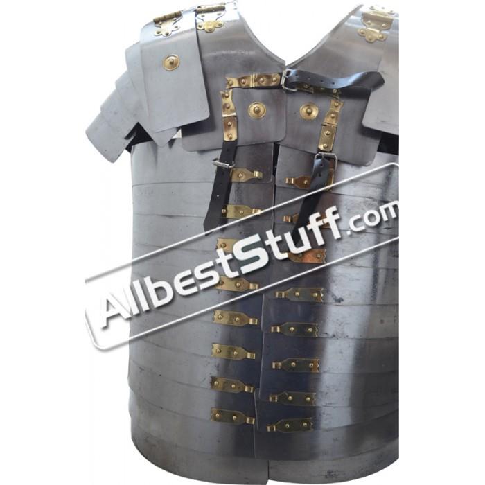 Size XL Roman Lorica Segmentata Armour with Leather Strap Segmenta