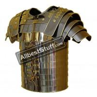 Size XL Roman Lorica Segmentata Brass Lined Segmenta
