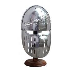 Medieval Crusader Heavy 14 gauge Helmet