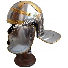 Imperial Garlic Helmet With Brass Trim