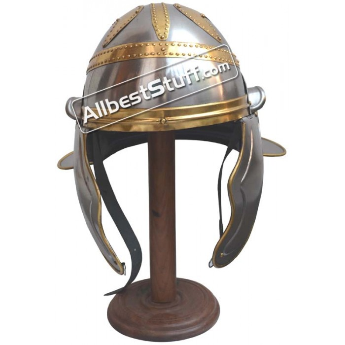 Imperial Garlic Helmet With Brass Trim