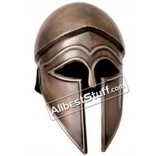 Italo Corinthian Helmet 18 Gauge Steel Leather Liner Antique Finish