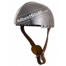 Light Weight LARP Secret Helmet Steel 20 Gauge