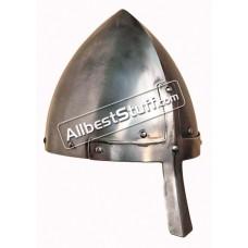 Medieval 11th Century Moravian Nasal Helmet Strong Battle Ready