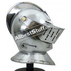 Medieval 15th Century European Closed Helmet