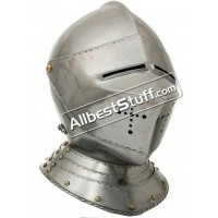 Medieval 16th Century Italian Tournament Helmet