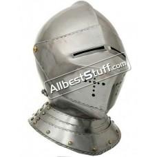 Medieval 16th Century Italian Tournament Helmet