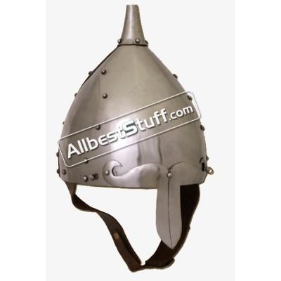 Medieval 8th Century Early Slavic helmet 14 Gauge steel