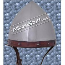 Medieval Archers Domed Helmet made from 16 Gauge Steel