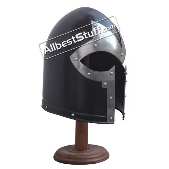 Medieval Barbute Helmet without Inner Liner