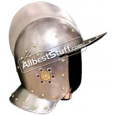 Medieval Cuirassiers burgonet early 17th cavalry Helmet