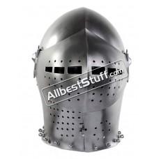 Medieval Early 15th Century Milanese Armet Helmet