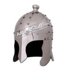Medieval Early King Arthur Nasal Helmet Made of 16 Gauge Steel