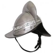 Medieval German Morion Helmet 16 Gauge Steel