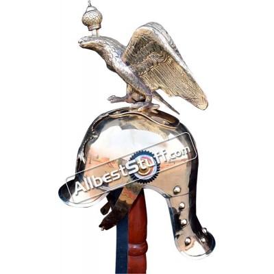 Medieval German Pichkle Hub Eagle Spike Brass Helmet