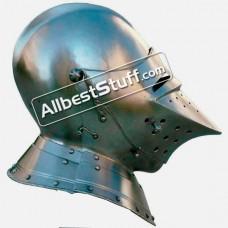 Medieval German armet 16th Century Helmet