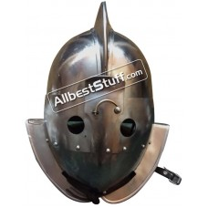 SALE! Medieval Gladiator Secutor Helmet Heavy Duty 14 Gauge