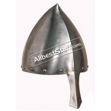 Medieval Italo Norman Nasal Viking Helmet Fully Battle Ready