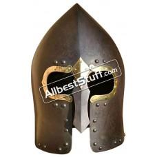 Medieval Lough Henney Gallowglass 16 Gauge Steel Helmet
