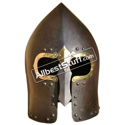 Medieval Lough Henney Gallowglass 16 Gauge Steel Helmet