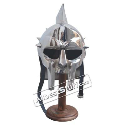 Medieval Maximus Helmet Armour Gladiator Movie Helmet