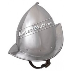 Medieval Peaked Morion Helmet Strong 16 Gauge Steel