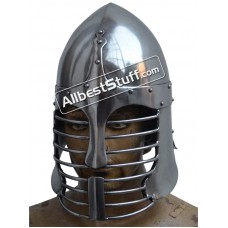 Medieval Persian Sugar Loaf Helmet Heavy 14 gauge Helmet
