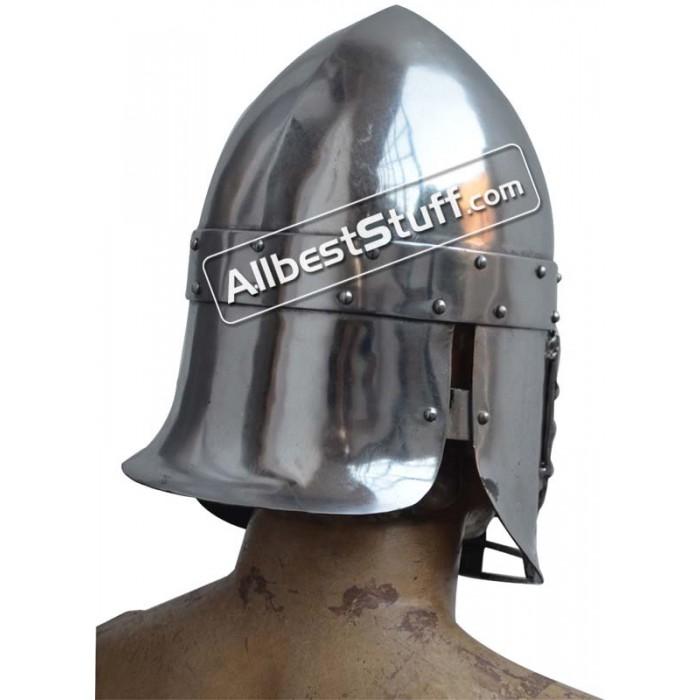 Medieval Persian Heavy 14 gauge Helmet