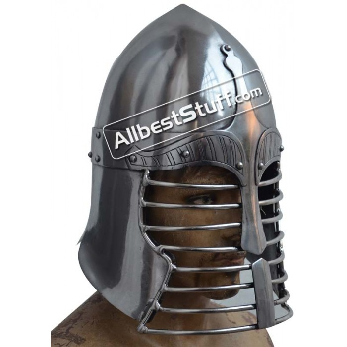 Medieval Persian War Helmet Heavy 14 gauge Helmet