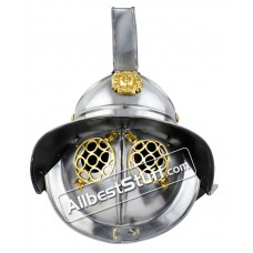 Medieval Thracian Gladiator Helmet Made of 16 Gauge Steel