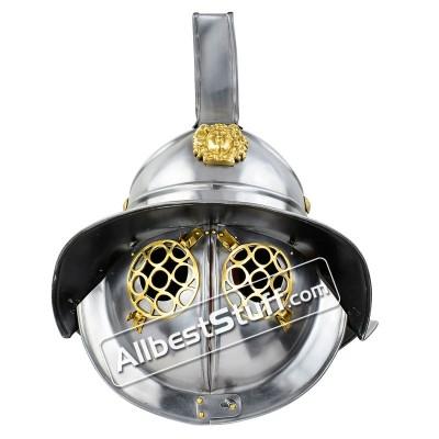 Medieval Thracian Gladiator Helmet Made of 16 Gauge Steel