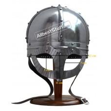 Medieval Viking Spectacle Helmet Roman Gladiator Reenactment Armor Helmet